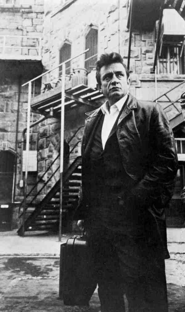 Cash at Folsom Prison, 1968.