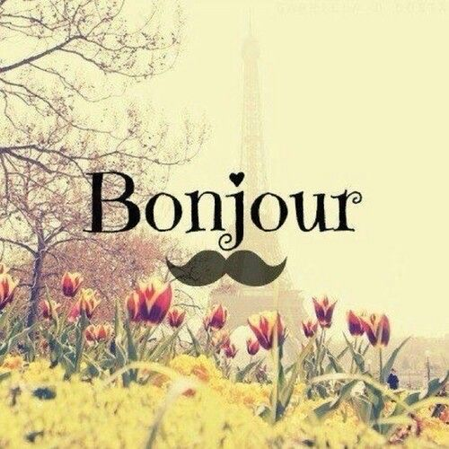 Bonjour! Phone wallpaper.  Iphone Wallpapers  Pinterest  Cute pictures, Pi...