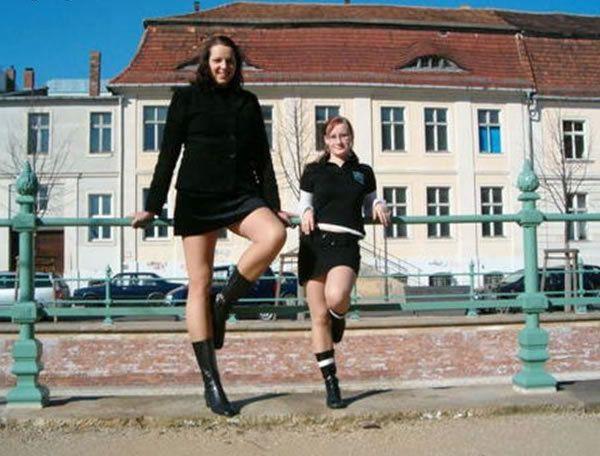 Каролина Вельц – самая высокая в мире модель carolinewelz, девушки, длиннопост