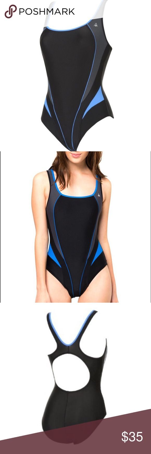 Aqua Sphere Lima Naiad Racerback Swimsuit Brand New With Tags! Aqua Sphere Ladies/Womens Lima Naiad Swimming Costume / Swimsuit Sleek and sexy, this one-piece swimsuit features a racerback and high sides for a flattering fit and streamlined look. Great for training or days at the beach. Chlorine Resistant. Super Stretch. High UV Protection. Size 34inch (10 UK)/Sz 8 US. All reasonable offers considered. Please be sure to check out my other auctions, I have a number of other items up for sale…