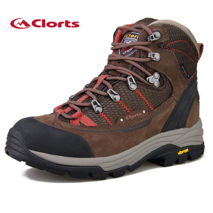 2017 Clorts Free Shipping Womens Hiking Boots Outdoor Trekking Shoes Waterproof Mountain Climbing Shoes For Female 3A003B