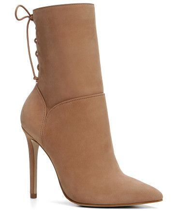 On SALE at 25% OFF! Angnes boots by ALDO. Spikey stilettos make a glorious return in a sexy ankle boot. Side zip and slim collar hug the ankle just so. - Zip b...
