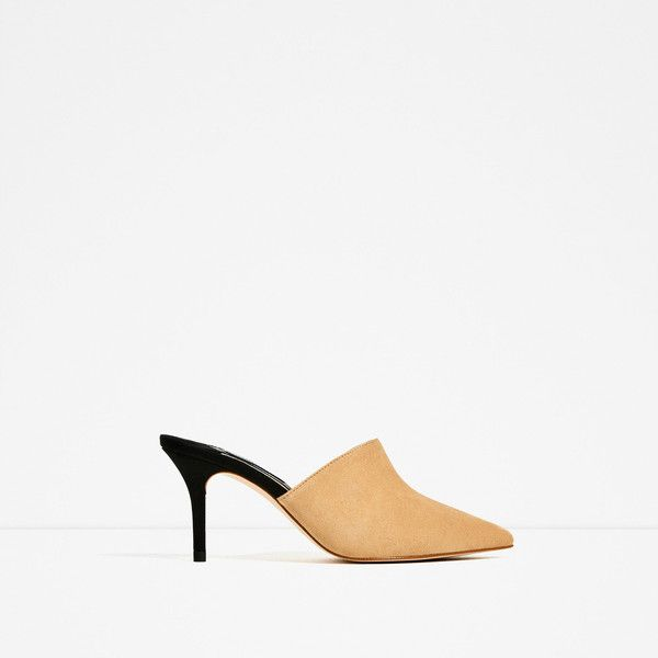 LEATHER SLINGBACK HIGH HEEL SHOES - View all-SHOES-WOMAN | ZARA.