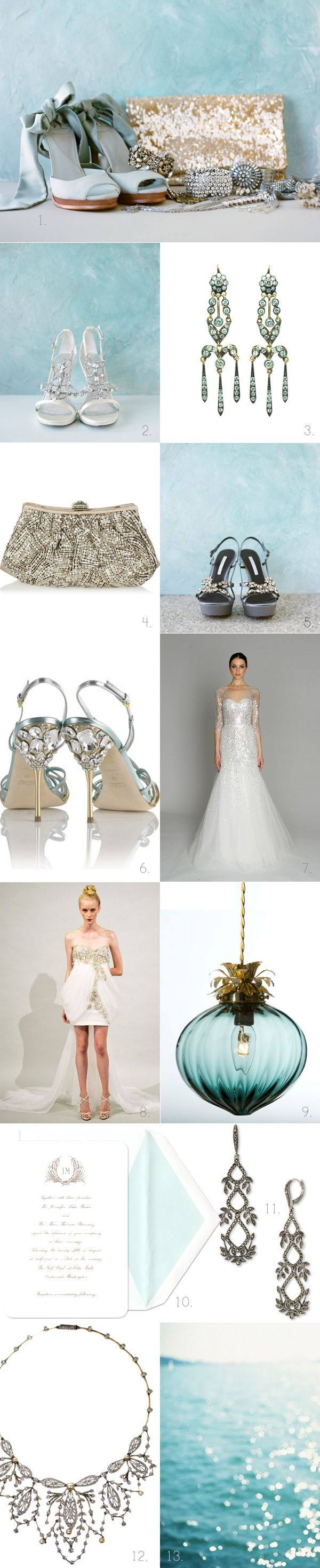 The sparkly wedding dress is out of hand gorgeous!!!