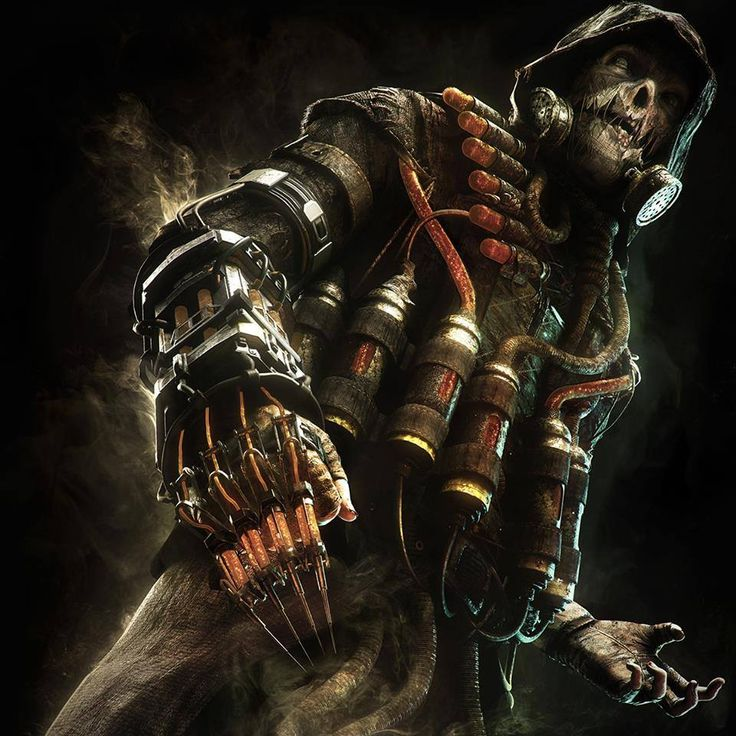 Scarecrow from Batman Arkham Knight -Will