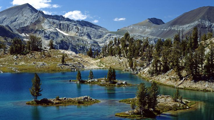 Glacier Lake Wallowa Whitman National Forest Eagle Cap Wilderness Area Oregon wallpapers and stock photos