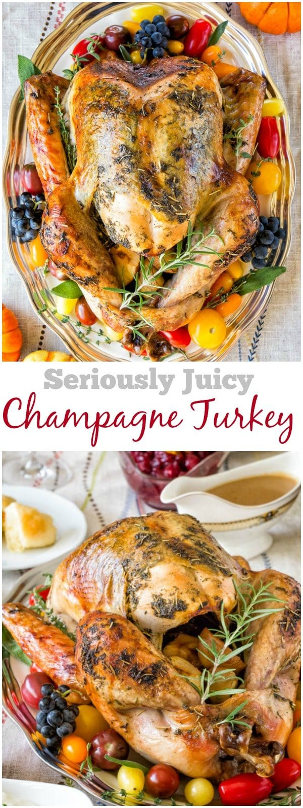 Seriously Juicy Champagne Turkey