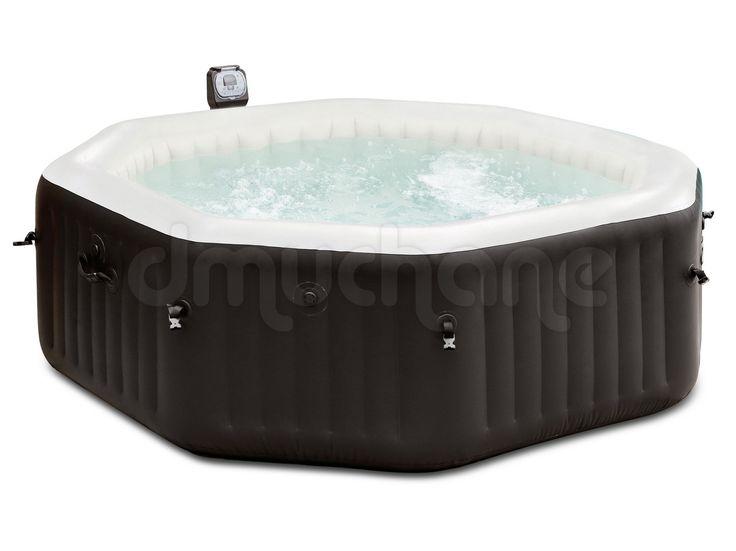 Dmuchane SPA Jacuzzi z masażem i podgrzewaczem wody 218 x 71 cm INTEX 28456
