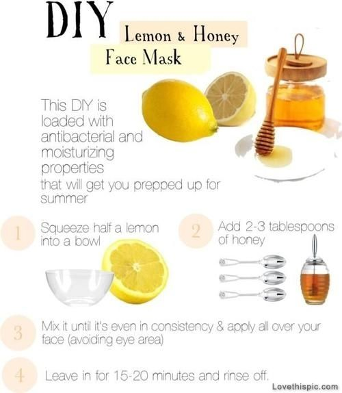 DIY Lemon And Honey Face Mask Pictures, Photos, and Images for Facebook, Tumblr, Pinterest, and Twitter