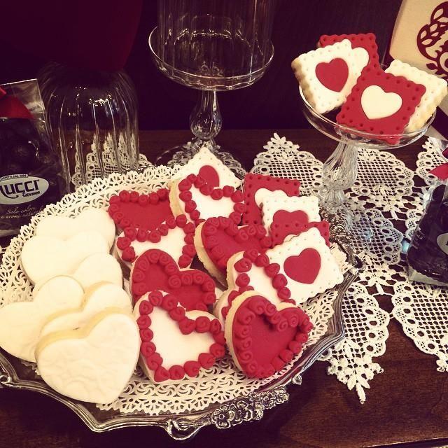 lorel in the world, biscotti, san valentino, fatto in casa, i love you, rose rosse