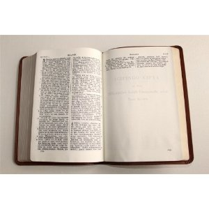 The Bible in Bemba Language / Brown Leather Bound with Golden edges / Baibele wa Mushilo uwabamo Icipingo ca Kale ne Cipingo cipya / OV052     $69.99