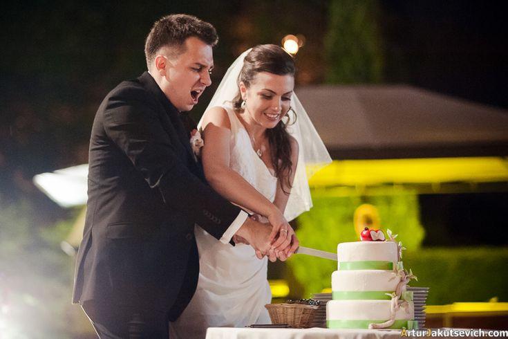 Wedding cake in Prague