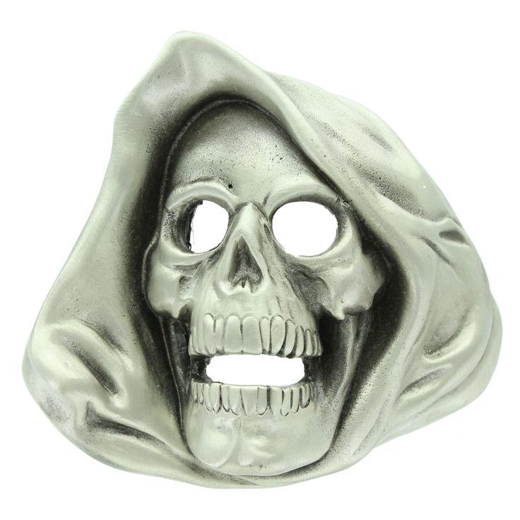 Grim Reaper Belt Buckle.