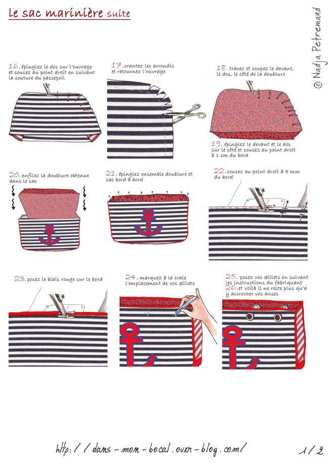 tuto le sac marinière page 2