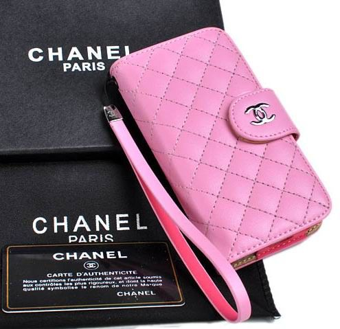 Chanel iPhone 5 Case Nappa Leather Pink