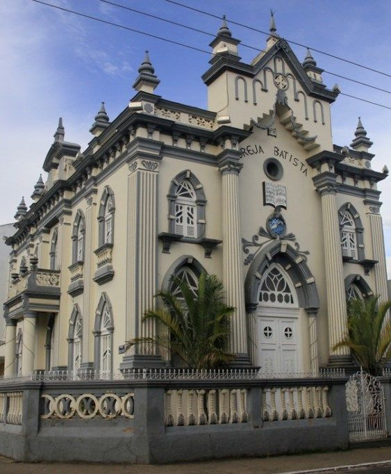 Igreja Batista em Sto. Antônio de Pádua, Minas Gerais, Brazil