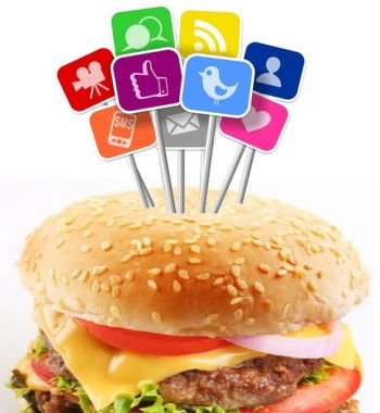 our social hamburger!