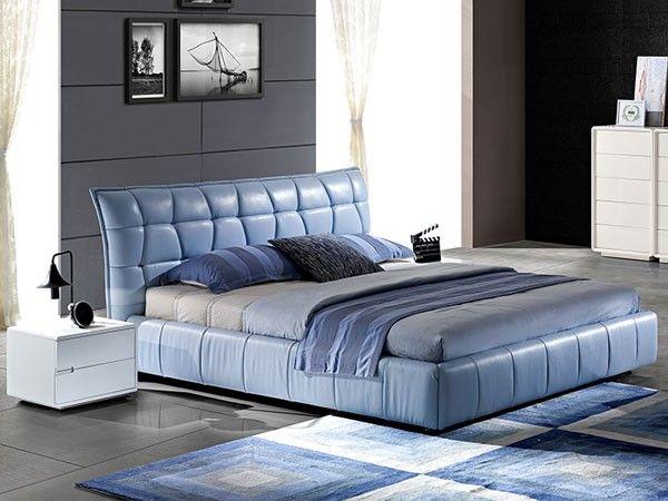 Bleu/ seng i skinn