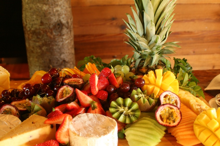Large Cheese and Fruit Platter
