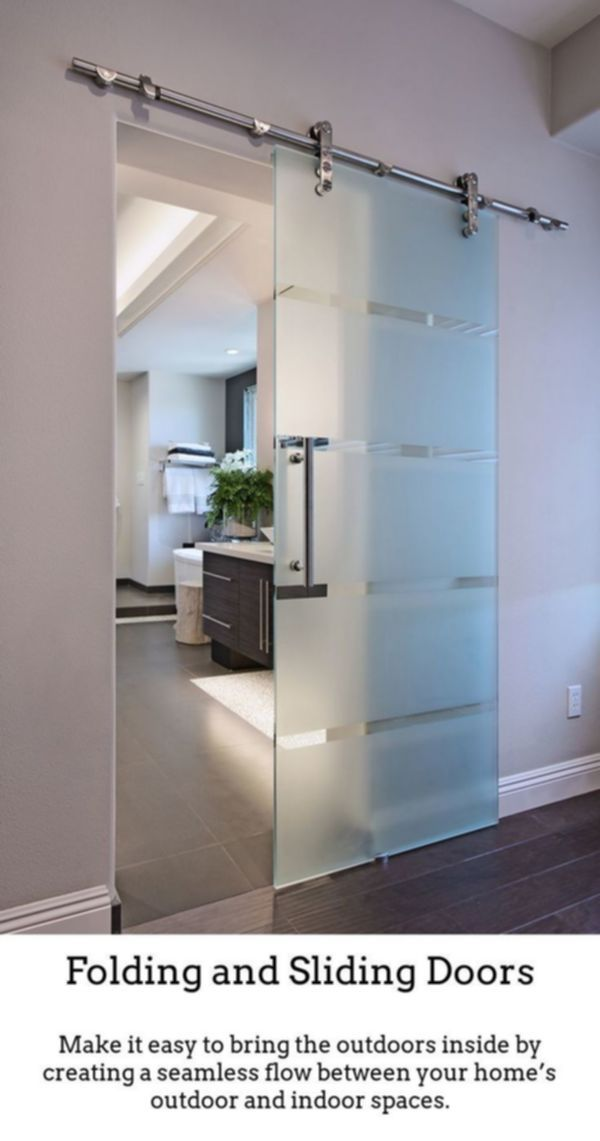 Sliding Doors Have Sophisticated Exciting Rooms Via Thermally