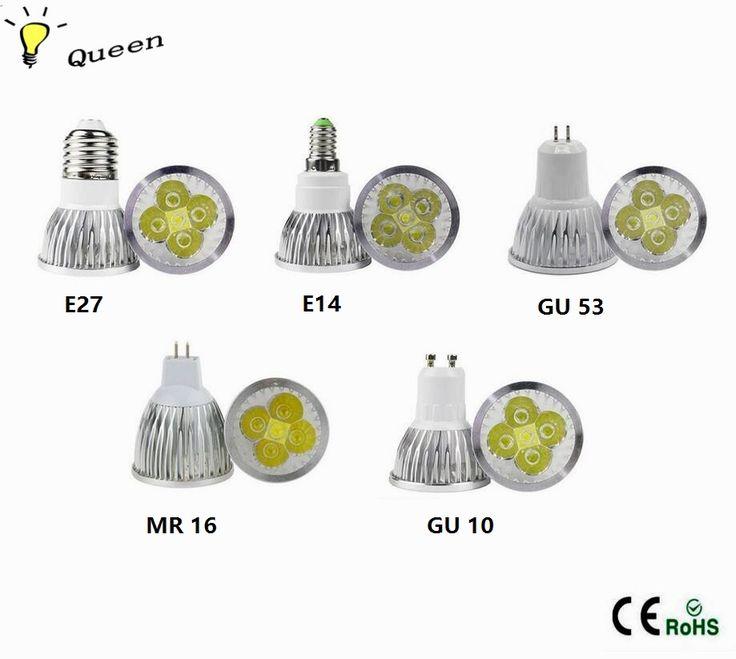 10pcs Bombillas Led mini spot light bulb E14 E27 MR16 GU5.3 GU10 12V 110V220V Lampada Led 3W 4W 5W High power Spotlight led lamp #Affiliate