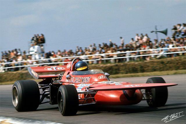 Pin di Sandro Campagna su MARCH 711 (1971) | F1 motor, F1 ...