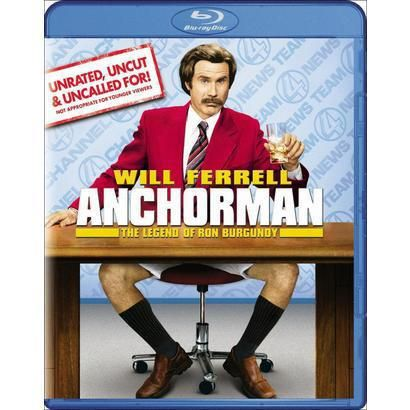 Anchorman: The Legend of Ron Burgundy (Unrated, Uncut & Uncalled For!) (Blu-ray)