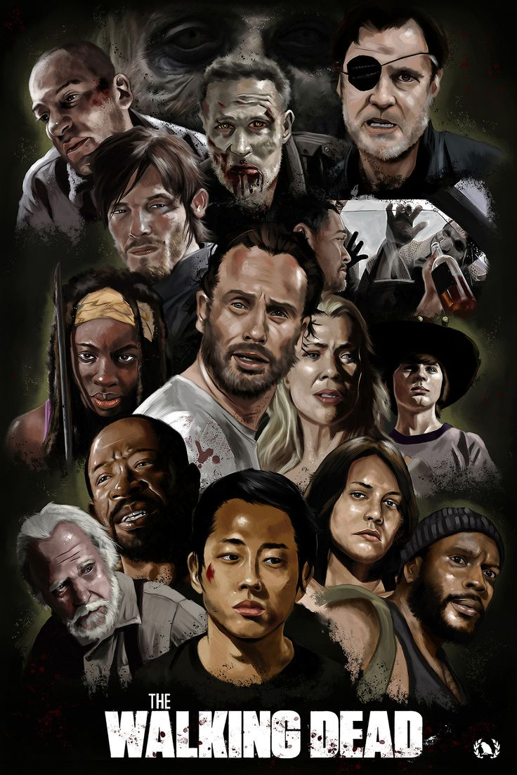 The Walking Dead Artwork by Ninth Branch