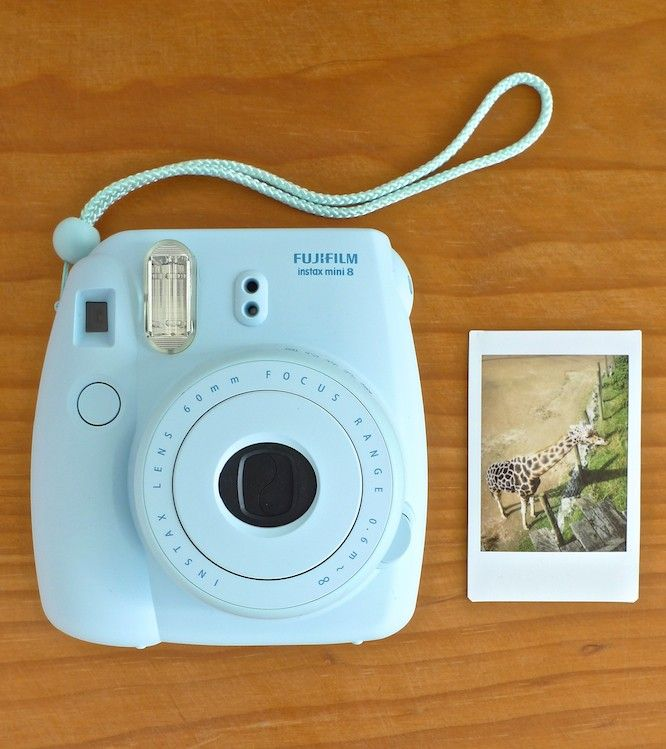 Giraffe captured on the new Mini 8 Instax Camera NZD $119 + Free Film. Click here http://wocolate.co.nz/brand/fuji-instax-camera.html