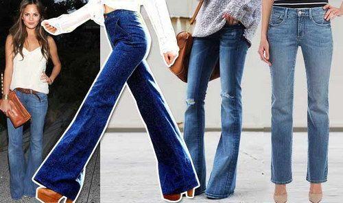 Incaltaminte pentru pantalonii evazati