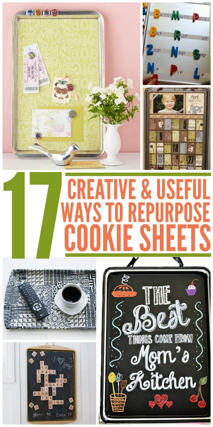 17 Useful Ways to Repurpose Cookie Sheets - One Crazy House