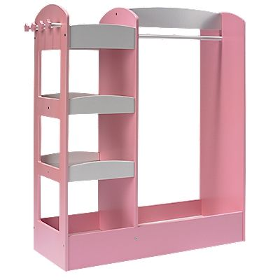 Girls Dress Up Storage Center...need this so I can get rid of the pink coat rack ;)
