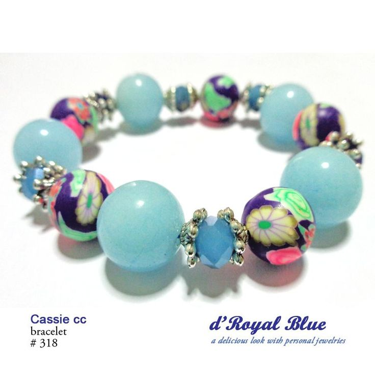 The product Cassie - Baby Blue Bracelet is sold by d'Royal Blue in our Tictail store.  Tictail lets you create a beautiful online store for free - tictail.com