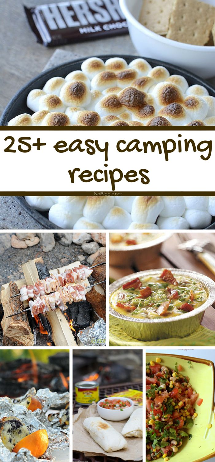 Best 25 Easy Camping Recipes Ideas On Pinterest