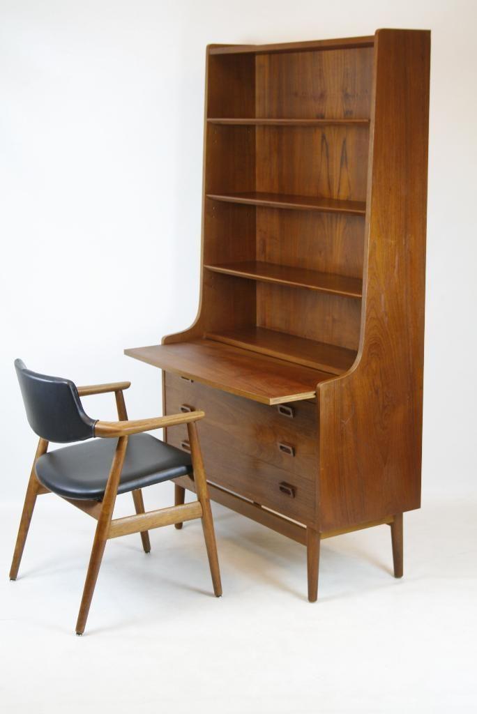 1 60er Teak Wand Regal Sekretar Danisches Design Mid Century Modern In Berlin Pankow Ebay Kleinanzeigen Danisches Design Mid Century Modern Regal