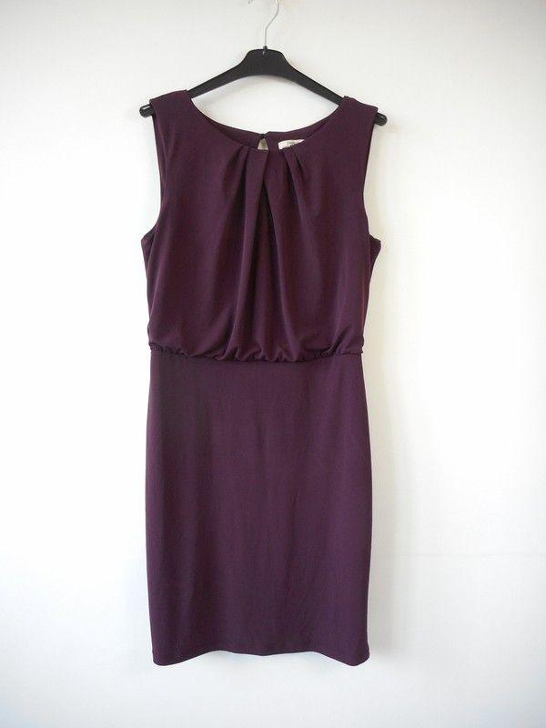 e2c4d92bfb Papaya sukienka śliwkowa r. 42 - vinted.pl