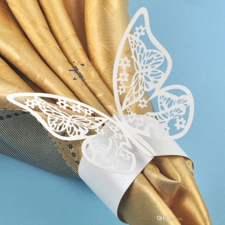 top wedding invitations016%0A Laser Cut Hollow Butterfly Paper Napkin Rings Wedding Napkin Holder For  Hotel Wedding Banquet Table Decoration