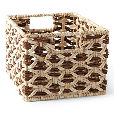 Michael Graves Design Natural Corn Husk Storage Basket   Jcpenney