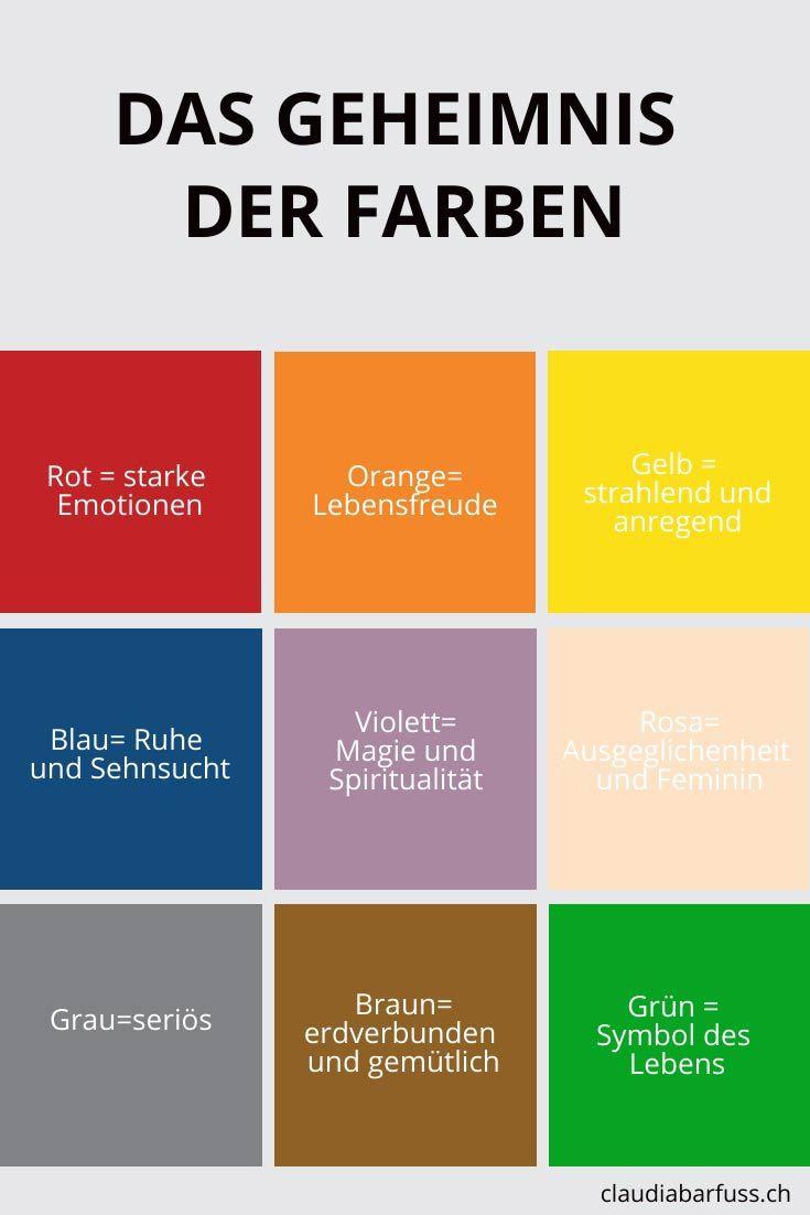 Finde Die Farben Die Zu Dir Und Deinem Business Passen