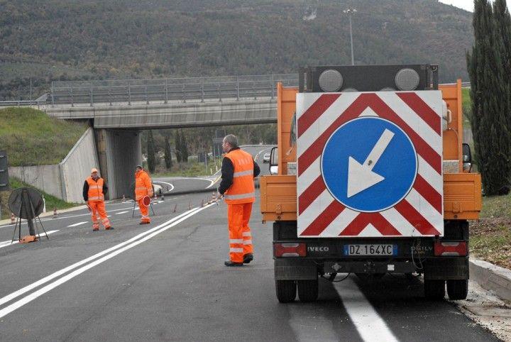 """Umbria, Anas, ripristinata circolazione sulla statale 205 """"Amerina"""" tra Orvieto e Baschi"""