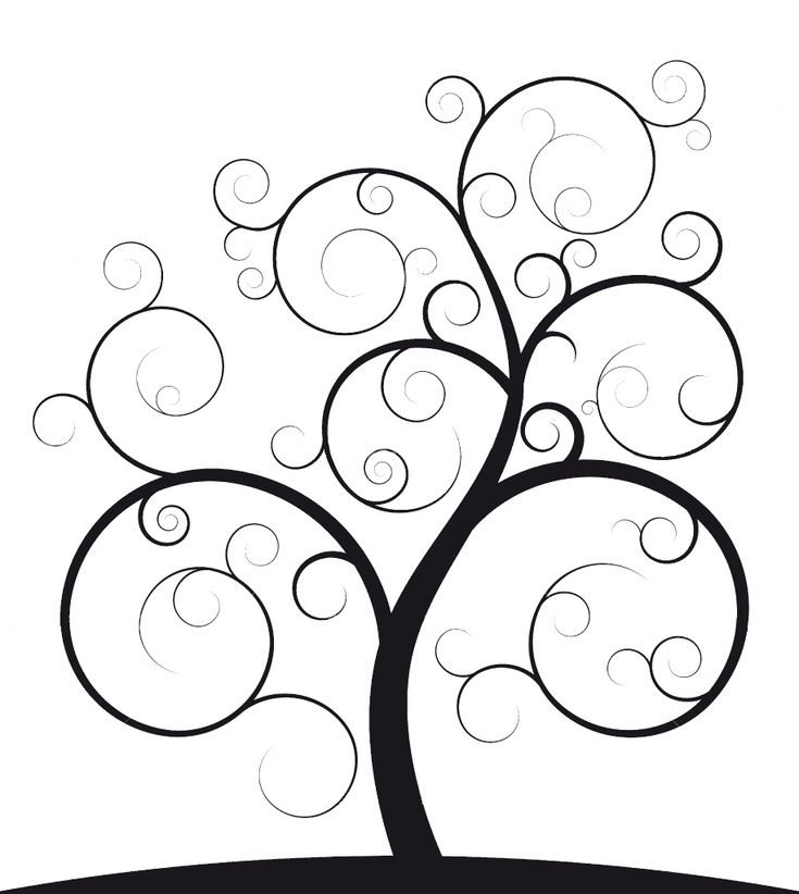 Ideal family photo tree outline with round frames in matte black to look like leaves perhaps?