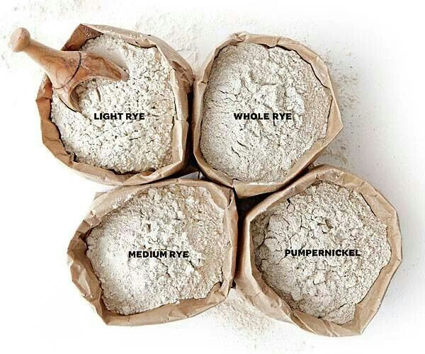 All about flours