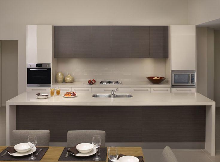 Ordinaire Fairmont Homes   Doors U0026 Panels By Polytec 2230 Linen · Kitchen Islands Contemporary ...