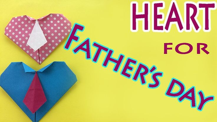 How to Make Easy Origami Heart for Father's Day – Cute Paper Heart