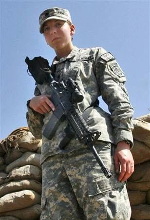 Army Spc. Monica Brown, second woman to receive Silver Star since WW2.