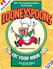 Looneyspoons was 1 of 3 cookbooks my Mom got me when I got married (1995) so pretty much Janet & Gretta taught me how to cook; along with the Company's Coming lady and of course Joy of Cooking. Seriously you can't find better easy to do, good for you and family friendly recipes.