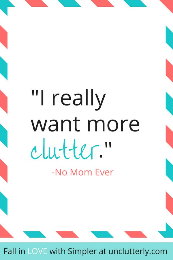 Does your family have a thing for clutter? Here are 3 powerful reasons to start your uncluttering adventures now.