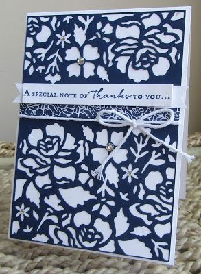 Stamping Moments: Detailed Floral Thinlits