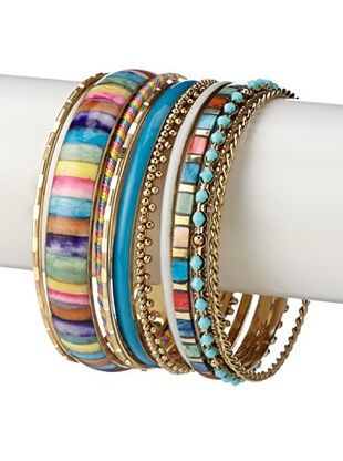 49% OFF Chloe & Theodora Summer Bangle Set