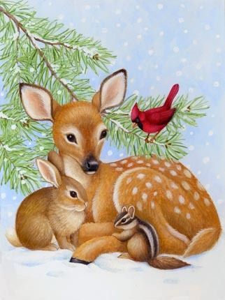Fawn and Friends -- by Stephanie Stouffer: